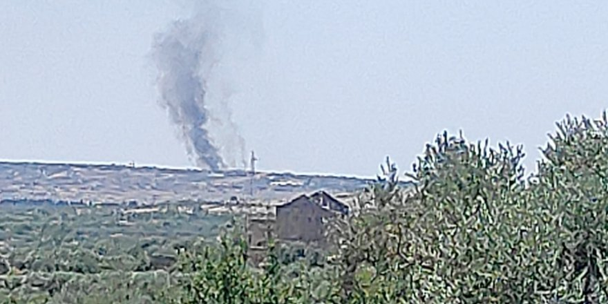 TSK İdlib'de Esed rejimine ait bir tankı vurdu