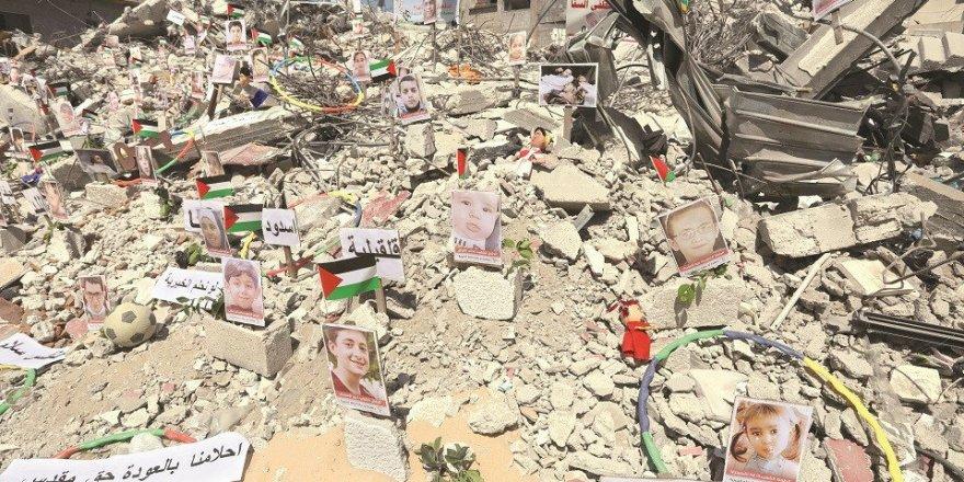 Gazze'de yıkım çok büyük: Sekiz bin beş yüz kişi evsiz kaldı