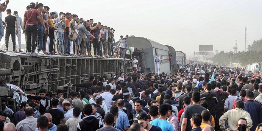 Mısır'da 24 saatte 2 tren kazası yaşandı