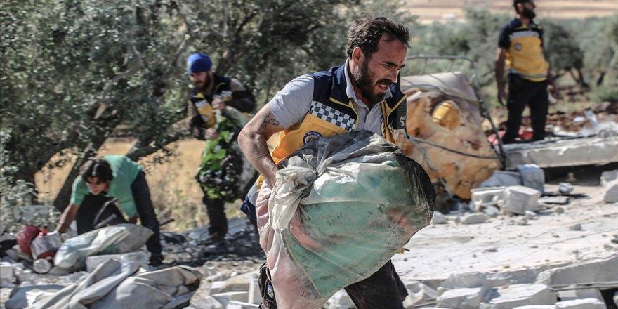 İdlib'e saldıran katil Esed güçleri 1 sivili katletti