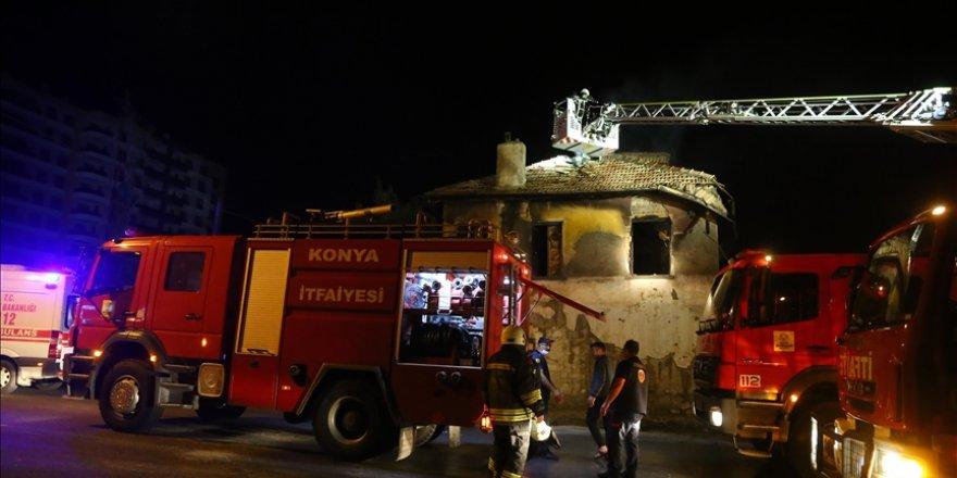 Suriyeli aile evlerinde çıkan yangında 3 evladını kaybetti