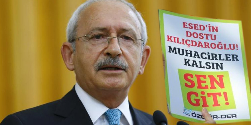 Kemal Kılıçdaroğlu muhacir düşmanı söylemiyle Kemalist zihniyetin değişmeyeceğini haykırıyor!