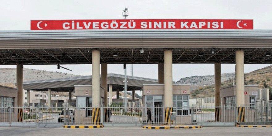 Sinirlioğlu'dan Suriye sınır kapısı Cilvegözü'nün 12 ay daha açık tutulması çağrısı