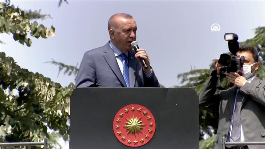 Cumhurbaşkanı Erdoğan: Tank paleti fabrikası devletin malıdır