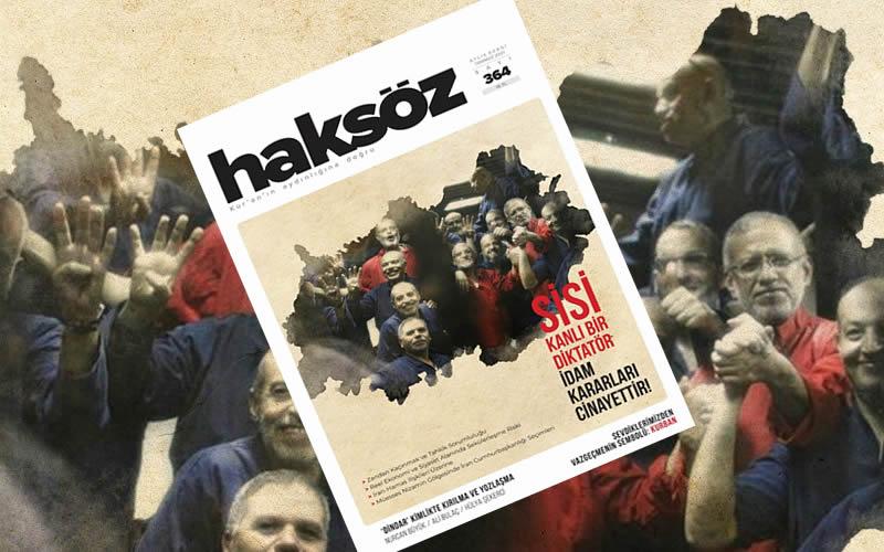 Haksöz dergisinin Temmuz 2021 sayısı çıktı