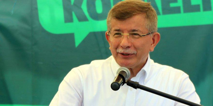 Davutoğlu'ndan Bahçeli'ye 'serok' hatırlatması: 48 saattir ağzını bıçak açmadı