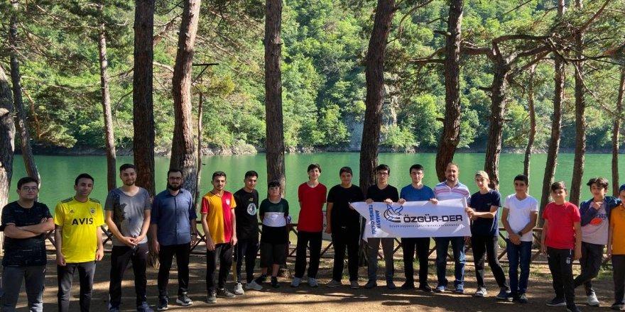 Amasya'da Özgür-Der ve Genç İHH yaz kampı gerçekleştirildi