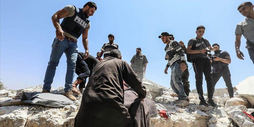 İdlib'e saldıran katil Esed rejimi 6 sivili katletti
