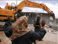 İşgalci İsrail Ürdün Vadisi'nde Filistinlilerin Evini Boşalttı