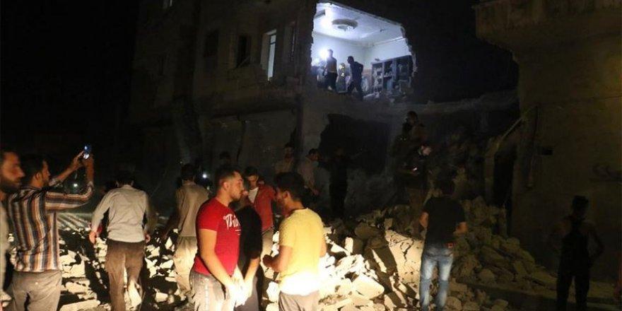 Esed rejimi El-Bab'a saldırdı