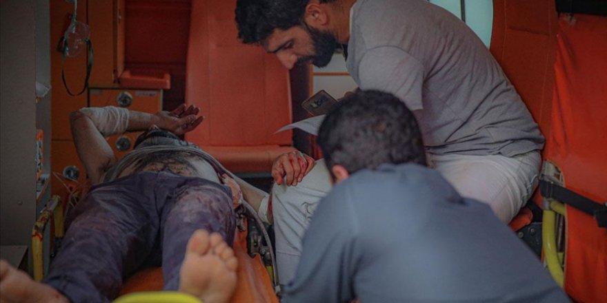 Katil Esed rejiminin İdlib'deki saldırısında 7 sivil öldü, 3 sivil yaralandı