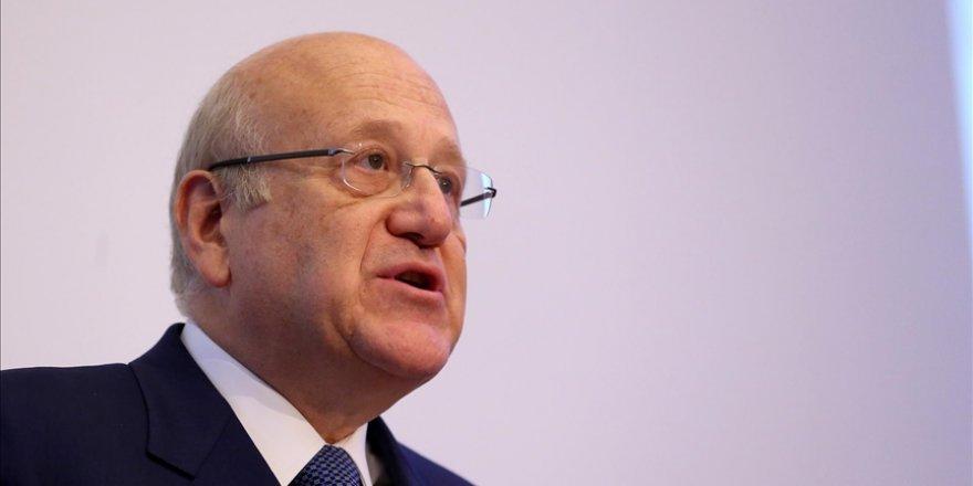 Lübnan'ın yeni Başbakanı Mikati, ülkenin çöküşe gidebileceği uyarısında bulundu