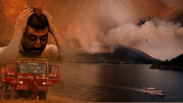 Türkiye'deki yangınlarda PKK bağlantılı 'Ateşin Çocukları İnisiyatifi' şüphesi