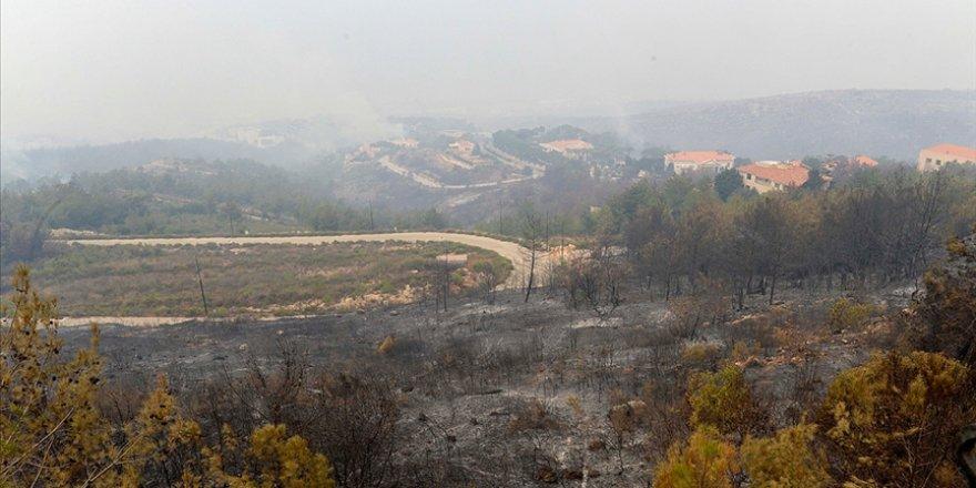 Lübnan'da 3 gün sonra kontrol altına alınan yangınlarda 20 bin dekarlık alan yandı