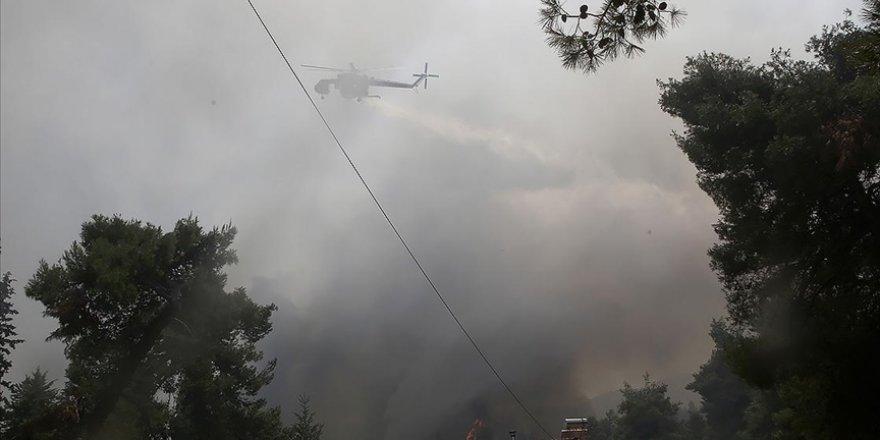 Orman yangınları Yunanistan'da da sürüyor