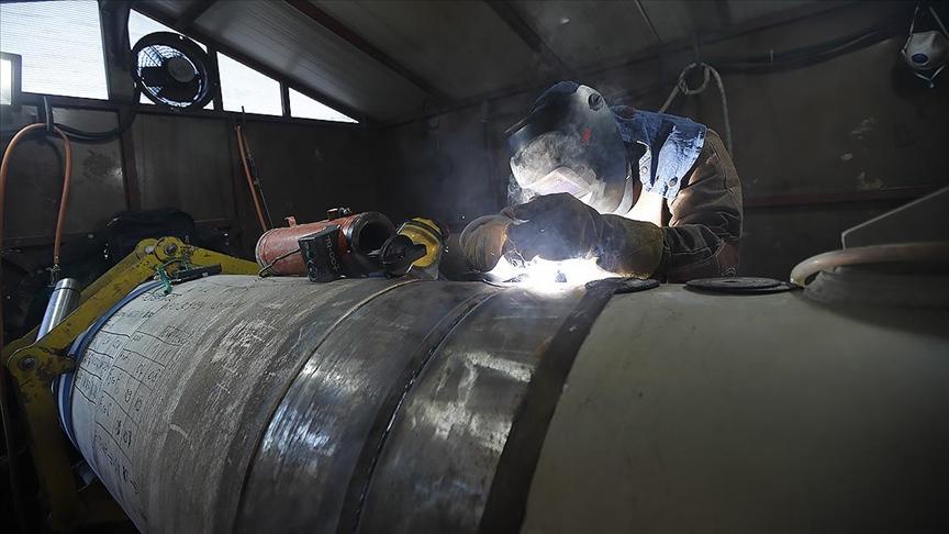 Karadeniz'de kullanılacak doğal gaz borularının üretimine başlandı