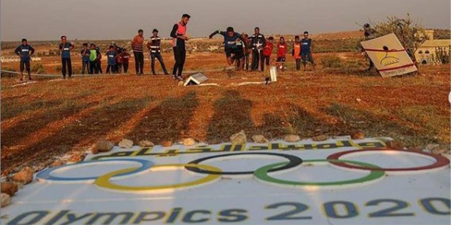 İdlib'de 'Çadır Olimpiyatları' düzenlendi