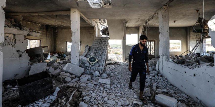 4 çocuğun canına mal olan Esed-İran'ın İdlib saldırısından geriye kalanlar