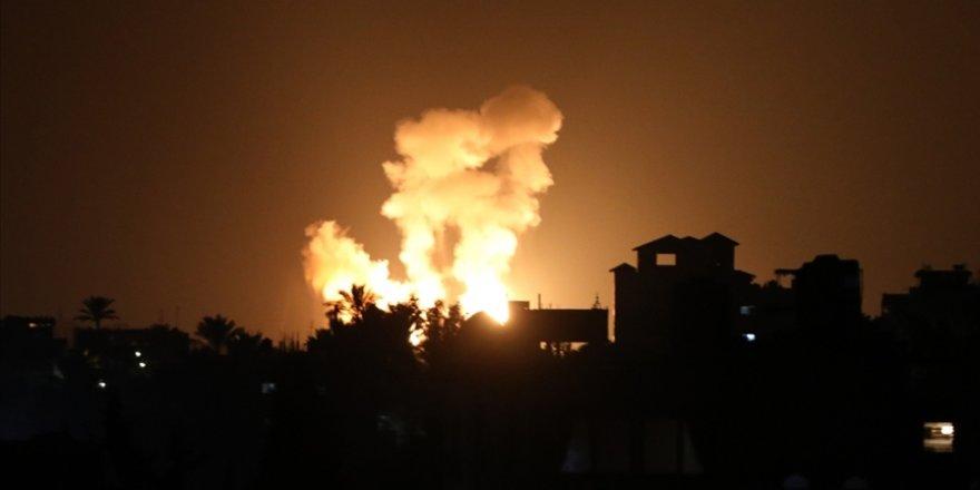 İşgalci İsrail Gazze Şeridi'ne saldırı düzenledi
