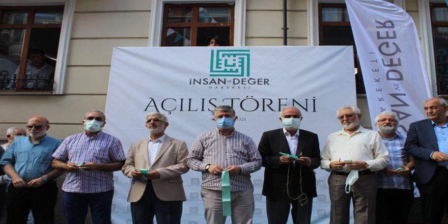 İnsan ve Değer Hareketi Genel Merkezi açıldı!