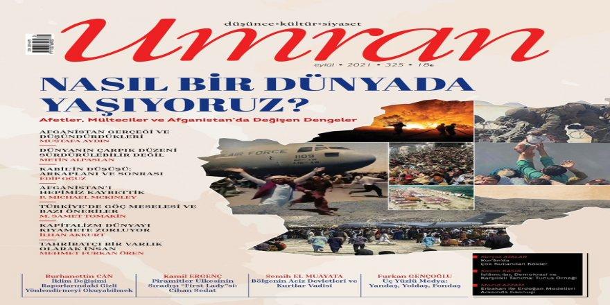 Umran dergisinin Eylül 2021 sayısı çıktı