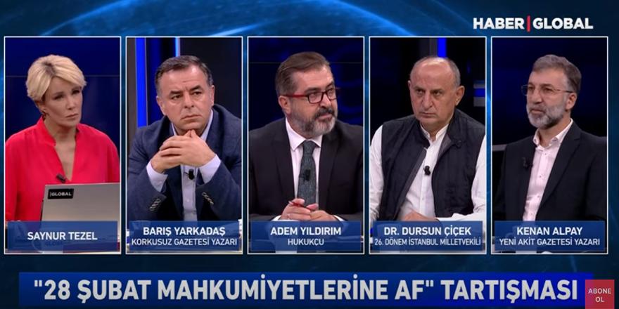 """Kenan Alpay: """"28 Şubat'ı konuşamıyoruz, makul bir yüzleşme gerçekleştirilmeli"""""""