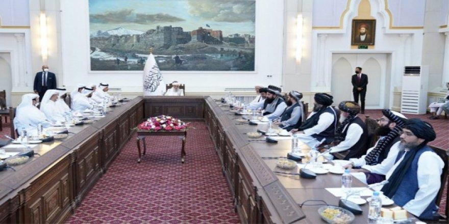 Katar Dışişleri Bakanı Al Sani'den Taliban hükümetine ziyaret
