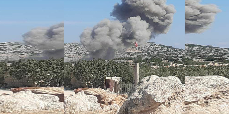 Rusya, TSK üssünün çevresini bombaladı