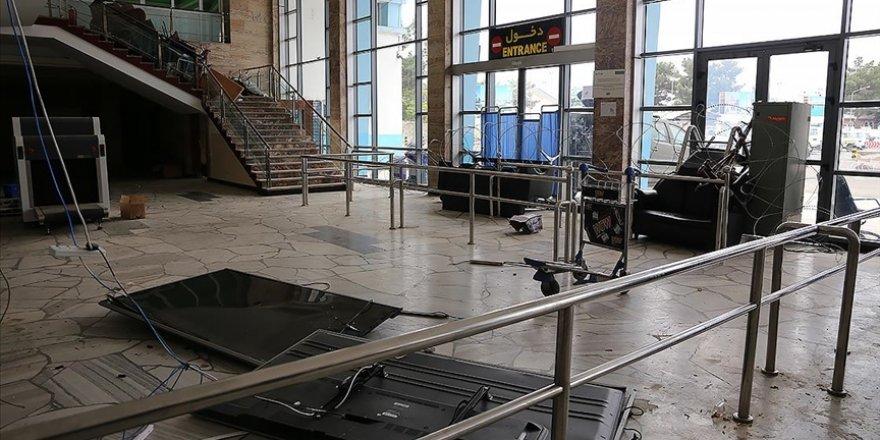 İşgalci ABD güçlerince Kabil Havalimanı milyonlarca dolar zarara uğratıldı