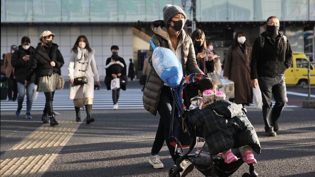 Japonya'da yaşlı nüfus rekor kırdı: 100 yaş üzeri 86 bini geçti