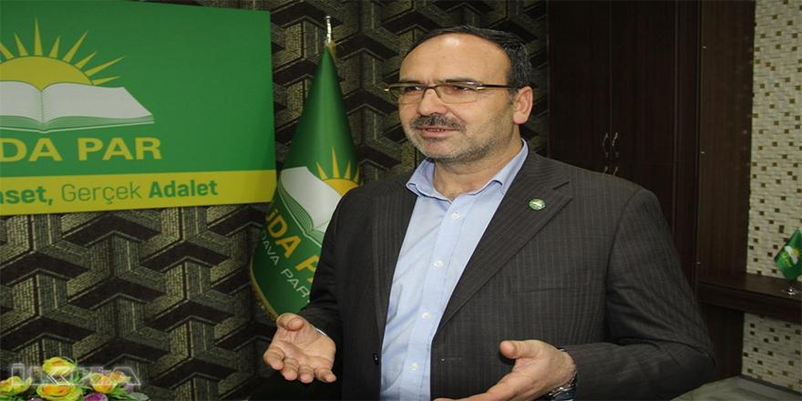 HÜDA PAR Genel Başkan Yardımcısı Kaya: Kürtçe ve Zazaca öğretmen ataması yapılmalı
