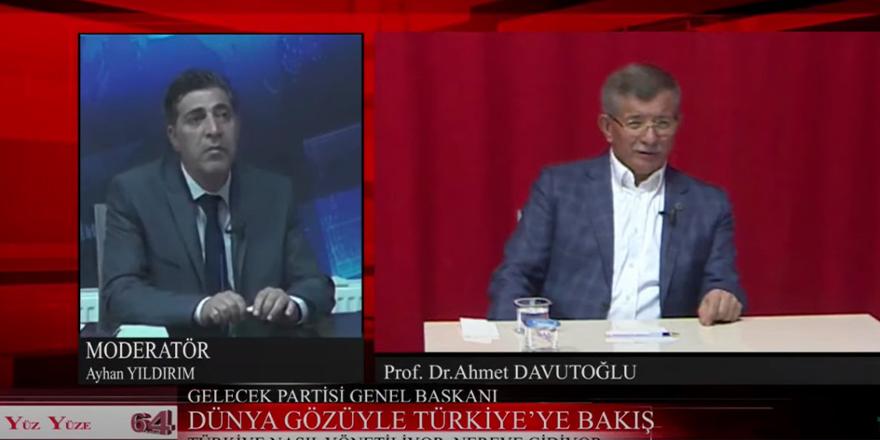 Davutoğlu: Türkiye'nin son 25 yılda yaşadığı musibetlere bakın hepsinde Bahçeli var