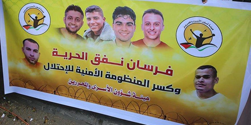 Hapisten kaçan 6 Filistinli esir, mesajlarını dünyaya ulaştırmayı başardı