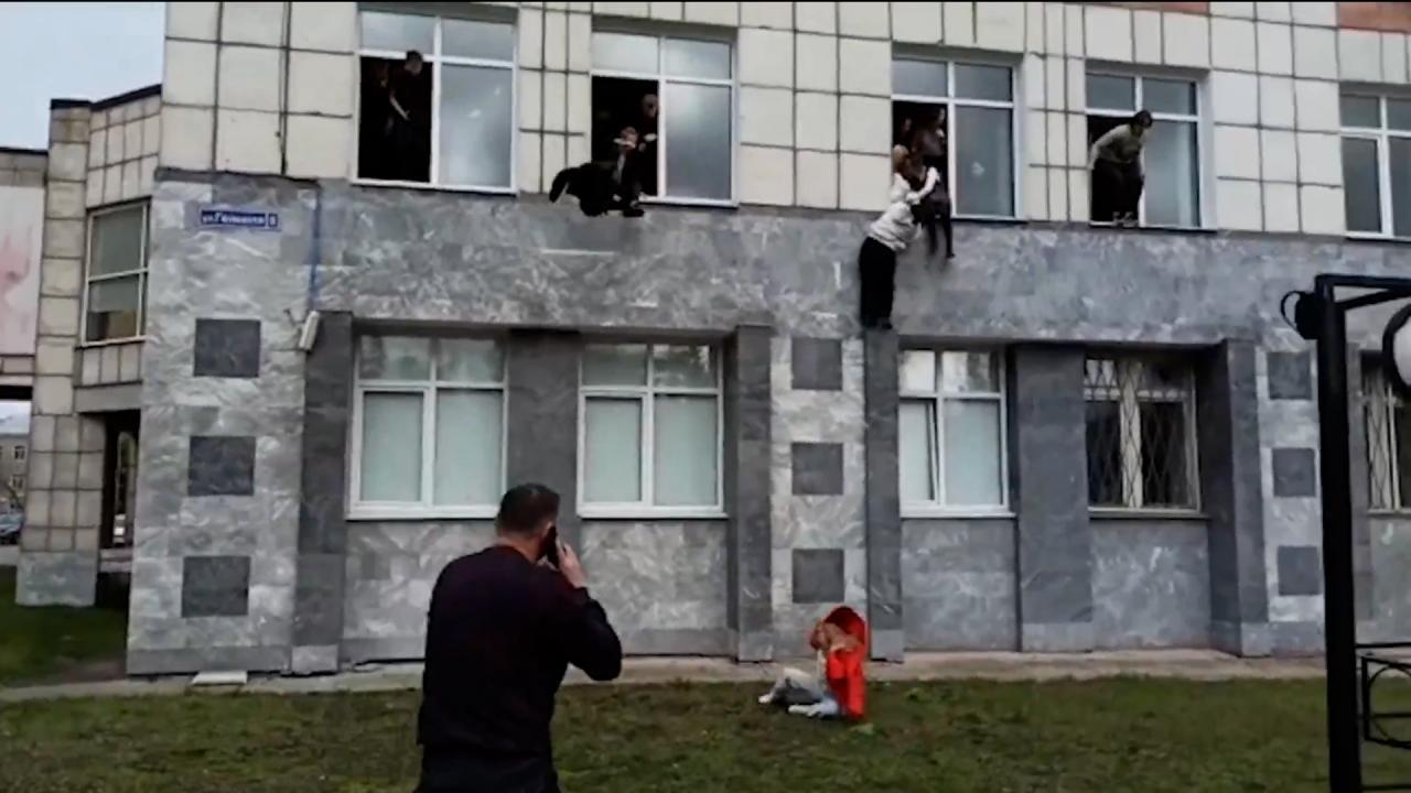 Rusya'da üniversitede silahlı saldırı