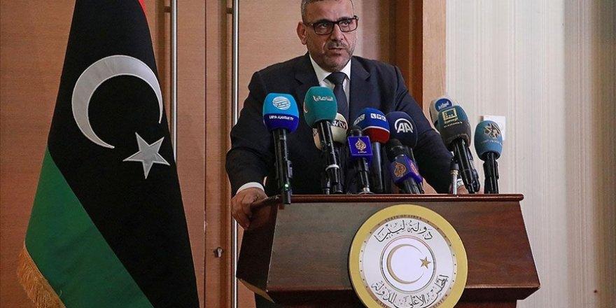 """Libya Devlet Yüksek Konseyi Başkanı'ndan """"hükümet seçimlere kadar görevinin başında"""" mesajı"""