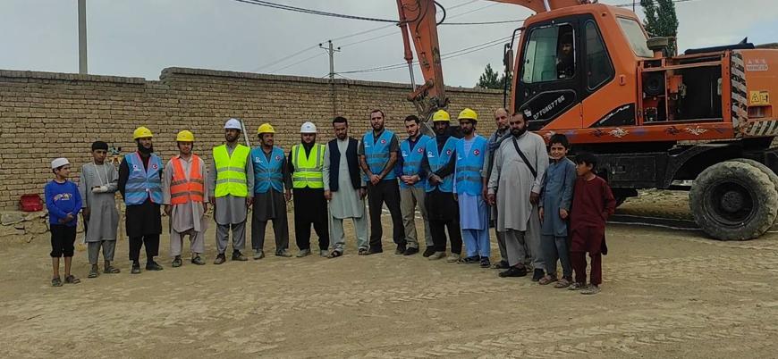 Türkiye merkezli insani yardım derneği Afganistan'da