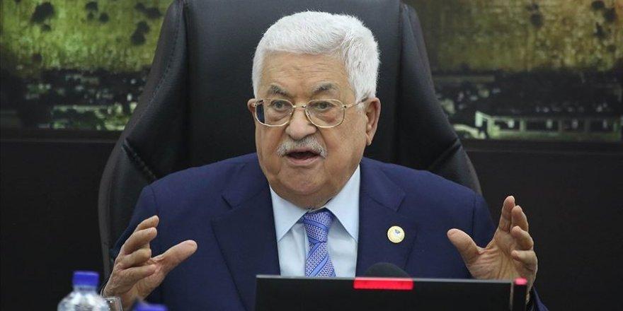 Mahmud Abbas: İsrail'e, işgaline son vermesi için bir yıl veriyoruz
