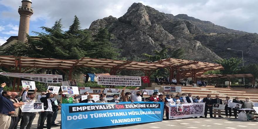 Doğu Türkistan için 'Anadolu Seferi'ne Amasya'dan destek