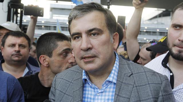 Eski Gürcistan Cumhurbaşkanı Saakaşvili gözaltında