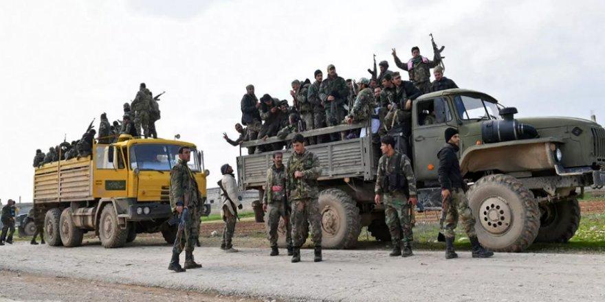 Rusya ve İran destekli rejim İdlib'e askeri sevkiyatı yoğunlaştırdı