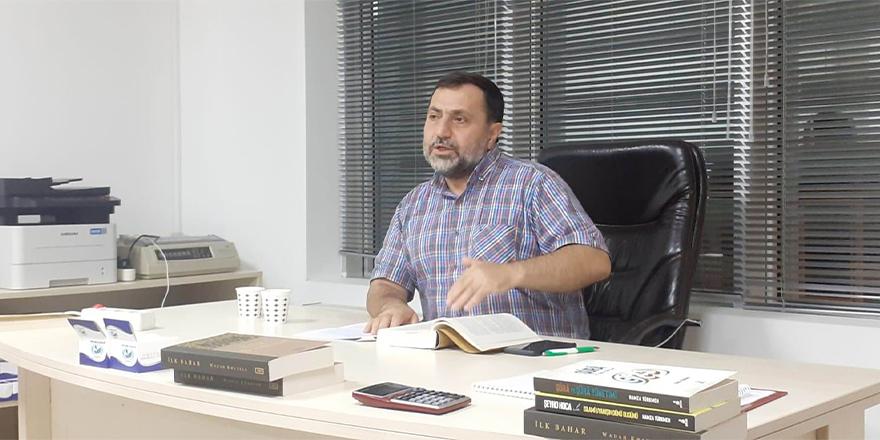 Wadah Khanfar'ın İlk Bahar adlı eseri Üsküdar Özgür-Der'de değerlendirildi