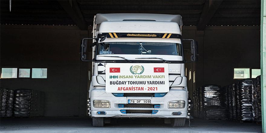 Türkiye'den Afganistan'a 100 ton buğday tohum