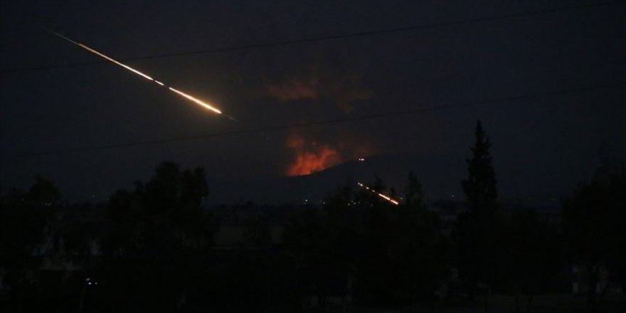 Deyrizor'da İran destekli çetelere hava saldırısı yapıldı