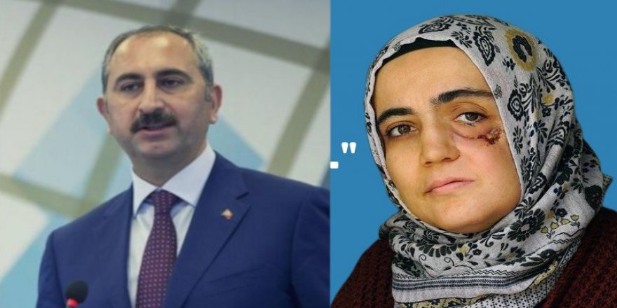 Adalet Bakanı'nın sözlerine Ayşe Özdoğan da dâhil mi?