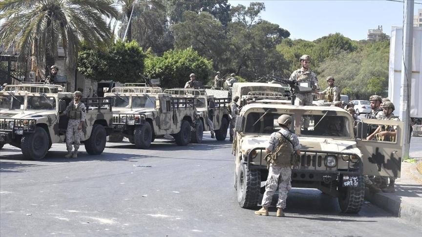 Lübnan'da 14 Ekim'deki çatışmalarla bağlantılı 68 kişi sorgulandı