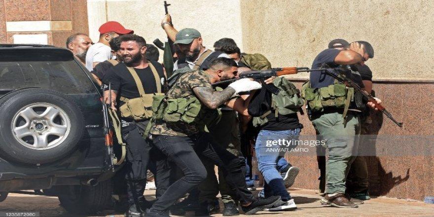 Lübnan'daki sokak çatışmalarında Emel Örgütü ve Esed rejiminin etkileri