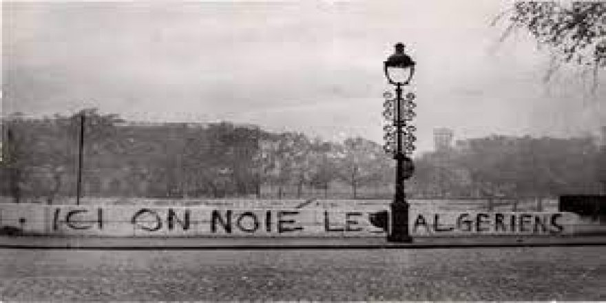 Paris'te yüzlerce Cezayirlinin öldürüldüğü '17 Ekim 1961 Katliamı' 60. yılında