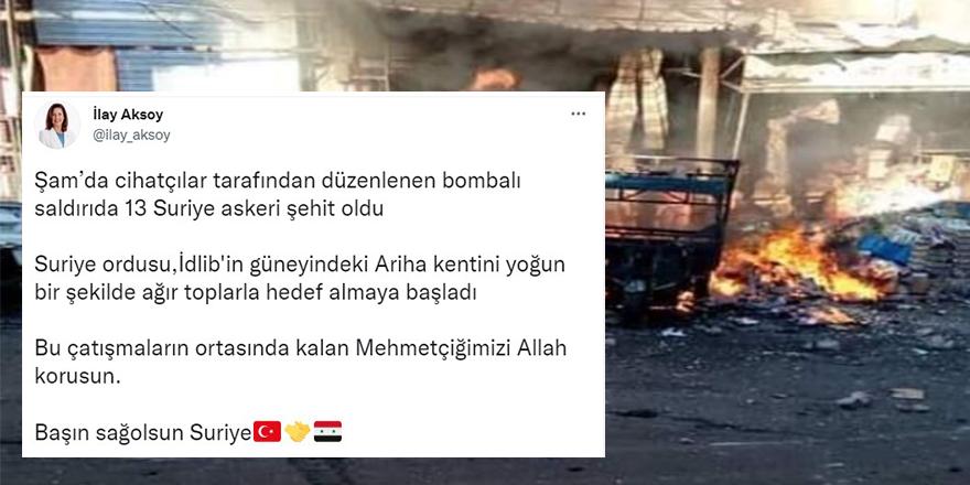 Esed rejiminin İYİ Partili sözcüsünden açıklama geldi!