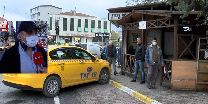 Taksicilerin bozulan imajlarını yalanla düzeltme çabaları boşa çıktı