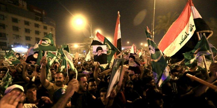 Irak'ta seçimin galibi Sadr Hareketi: Hükümet kurma konusunda dış müdahaleye müsaade etmeyeceğiz